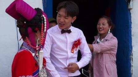 彝人视角带你走进汉族美女嫁给彝族人的婚礼酒席现场