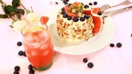 西瓜蛋糕, 一款真正的水果蛋糕