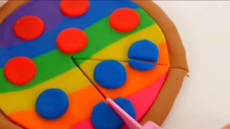 脑洞大开, 用橡皮泥做的意大利披萨, 要来一块吗?