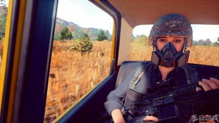 绝地求生: 兄弟们操着15倍MK14来一场新地图的森林野战.