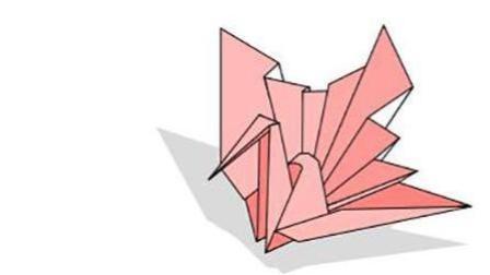 手工折纸 儿童折纸 折纸大全 折纸教程 如何折一个折纸千纸鹤