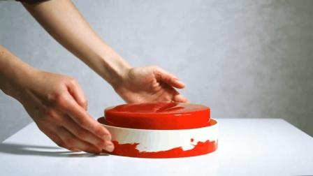 草莓椰子蛋糕-Dinara Kasko