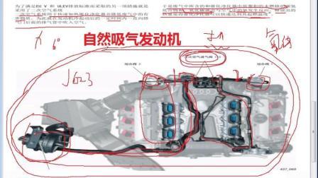 汽车维修奥迪大众二次空气喷射系统工作原理讲解