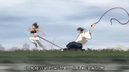《史上最强弟子兼一》兼一和武田一大早就被各自的师傅魔鬼训练, 好辛苦
