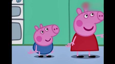 动画: 猪爸爸和兔爸爸踢足球, 乔治和佩琪跳泥坑, 好好玩哟
