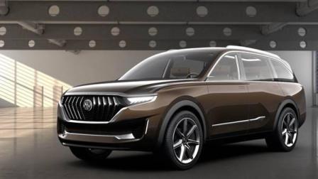 国产最大七座SUV-正道k750 外观大气上档次大尺寸