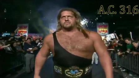400多斤的一头金色长发大秀哥, 遇上野兽高柏也是被一顿吊打!
