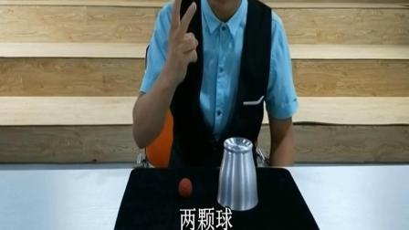 """超级经典""""杯子与球幻术""""魔术揭秘与教学【曾经售价过万】"""