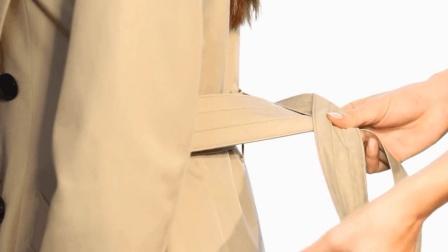 3种今年最流行的大衣腰带系法 点缀你的背后