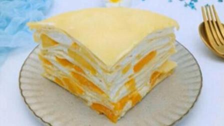 水果千层蛋糕, 不需要烤箱, 做法简单, 味道超级棒