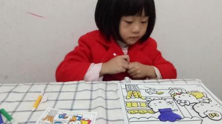 新魔力玩具学校 第一季 DIY可爱凯蒂猫蛋糕甜品画