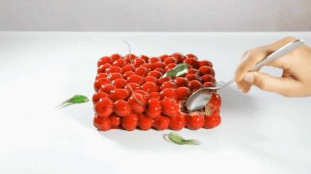 樱桃蛋糕-3D打印-Dinara Kasko