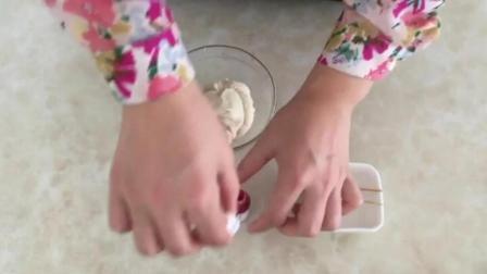 惠尔通裱花教程 裱花小寿桃的视频 蛋糕裱花自学教程大全
