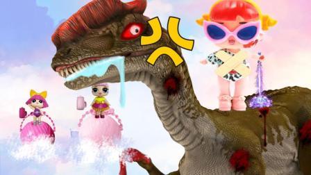 恐龙破坏王: 霸王龙玩奇趣蛋, 芭比娃娃巧逃脱!