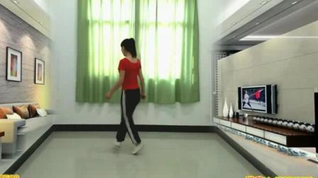河南省商丘市虞城县《六口茶》摆手鬼步舞教学 大爷大妈跳曳步舞《美丽的天堂》