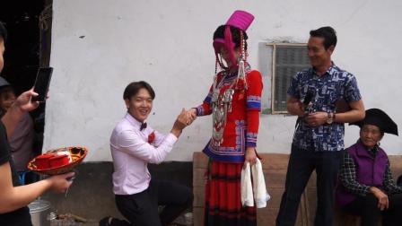 彝人视角摄影汉族美女嫁给彝人的交杯酒仪式是这样的