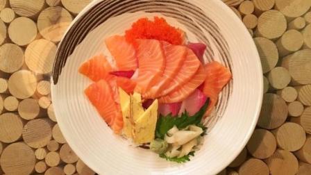 北京周一排队吃的超值三文鱼盖饭