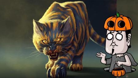 #冬日吸猫#童年阴影! 茅山道士大战九命凶猫