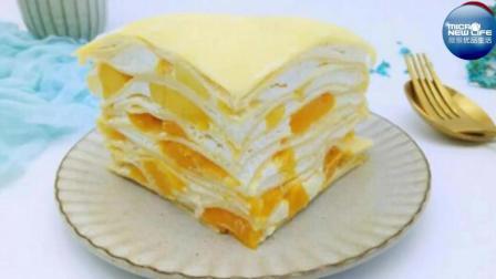 不需要烤箱的水果千层蛋糕, 做法简单, 味道超级棒!