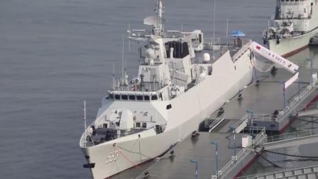 """南海新晋守护神: """"潜艇杀手""""江岛级(056A)护卫舰"""