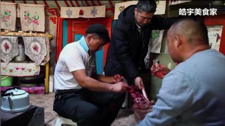 原汁原味的蒙古传统美食—石头烤肉, 让你看了就忍不住流口水