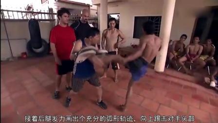 专业搏击高手, 教你练就无敌鞭腿, 直接KO你的对手!
