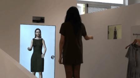 未来的商店-智能试衣间