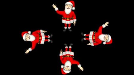 圣诞全息视频 DIY圣诞全息