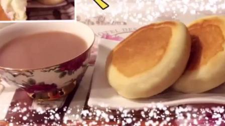 爆浆芝士面包 教你用平底锅做面包 超级松软好味道