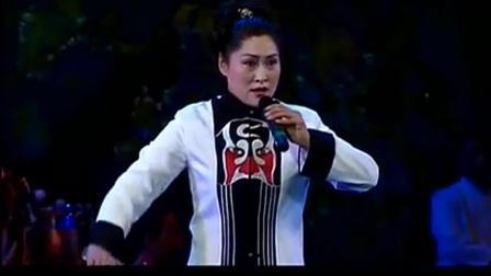 女黑头李春景唱豫剧《探阴山》整容很霸气!