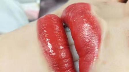 广州专业培训学校纹唇水晶唇真人实操教学视频免费自学视频-本色纹绣