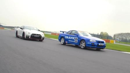 两代战神! GT-R R34和GT-R R35 Nismo直线对决