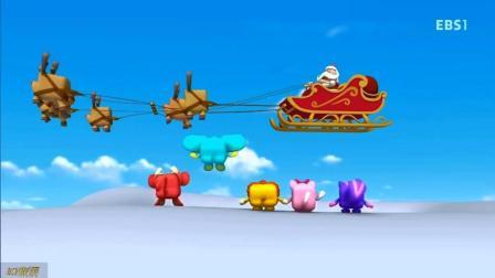 玩具精灵酷比秋_225_动画解说_沉睡的圣诞爷爷