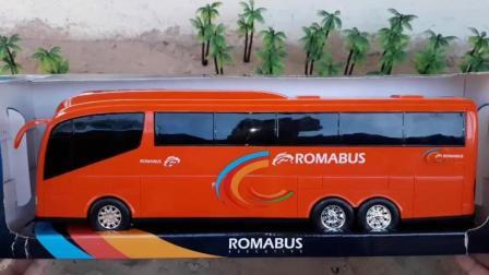 罗马巴士沙滩旅游度假红色小公交车太友儿童汽车玩具