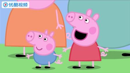 小猪佩奇一家居然丢下猪爸爸坐直升机, 猪爸爸太惨了吧