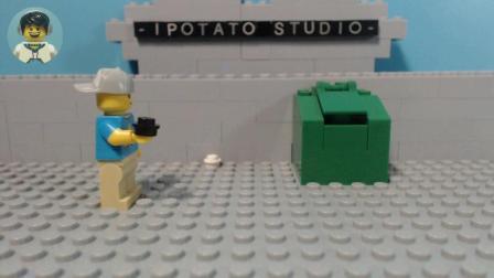 【iPoTato原创】乐高定格动画: 破窗效应, 一个垃圾堆的成长史
