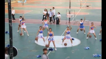 广东梅州嘉应学院新生杯篮球宝贝体育学院代表队热辣啦啦操