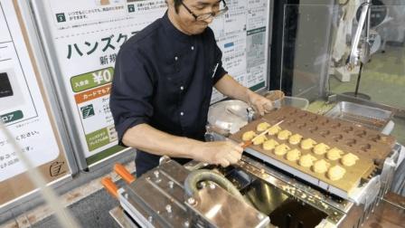 日本街头食品 - 这才是真正的铜锣烧, 红豆甘薯鲷鱼烧