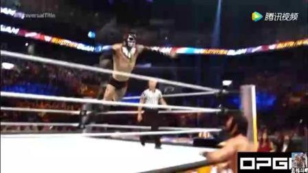 WWE 夏日狂潮 罗林斯VS恶魔之子 不玩别的就拼技术