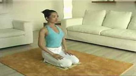 瑜伽减肥初级课程 家庭日常锻炼 瑜伽动作