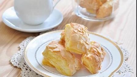 杏仁千层酥就是这个味, 外酥里嫩, 这味道根本挡不住!