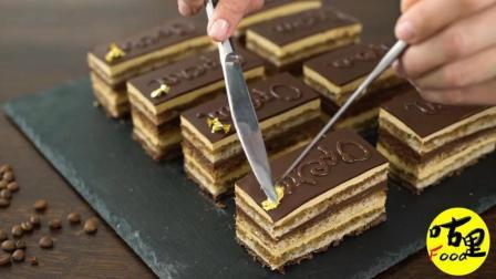 美味的巧克力慕斯蛋糕, 自己在家也可以做出精致的下午茶哦!