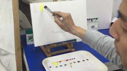 6分钟教你认识水彩颜色名称—孟繁哲色彩教学