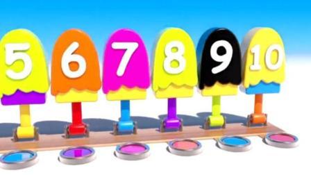制作蛋糕和汉堡玩具视频彩泥 冰淇淋 制作冰淇淋的玩具模具视频79