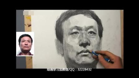 素描培训风景油画教学视频_树素描人物素描教程