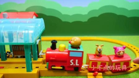 面包超人开小火车 面包超人遇到麻烦了