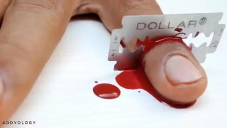 令人敬畏的切割手指魔术, 你可以做的到。