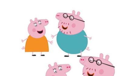 动画: 猪妈妈给佩奇生了一个弟弟, 佩奇很开心