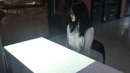 上海这家3d投影餐厅叫什么