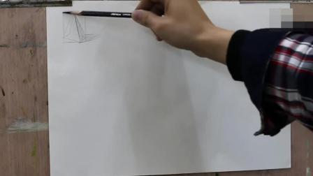 水粉教学素描基础教程_手绘入门初学素描